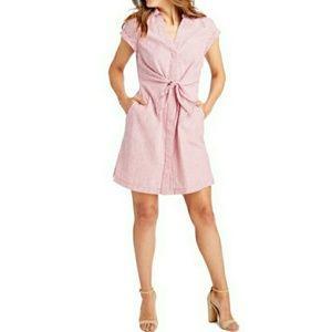 🆕️Vineyard Vines Seersucker Tie Front Dress